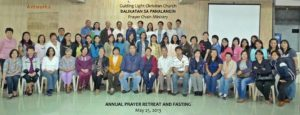 Annual Prayer Retreat and Fasting 2013