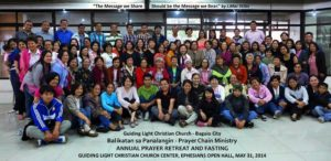 Annual Prayer Retreat and Fasting 2014